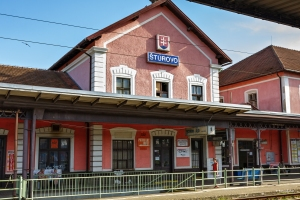 Sturovo Train Station