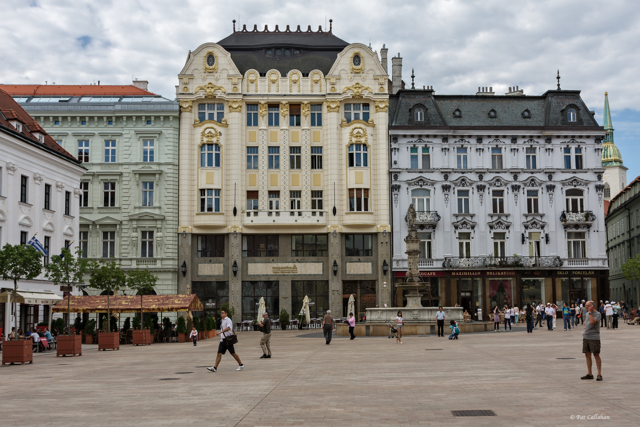The Main Square Old Town Bratislava The World In Between