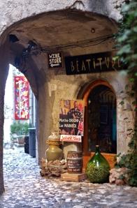 The old village wall - St. Paul de Vence