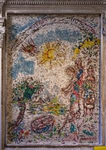 Chagall Mosaic - Vence Cathedral