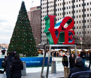 LOVE at the JFK Plaza
