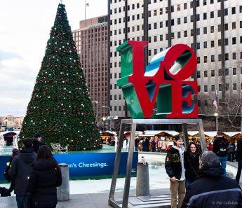 LOVE at the JFK Plaza