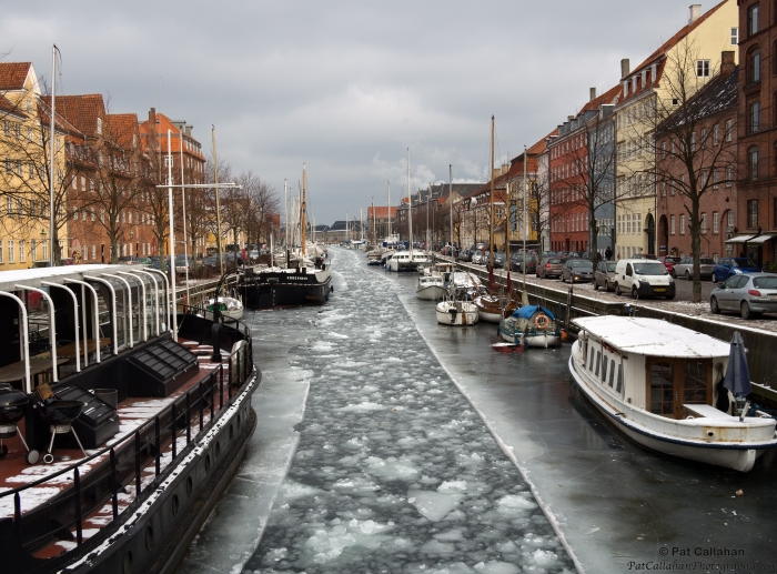Christianshavn Copenhagen in January