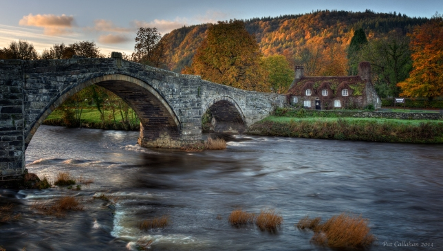 The Tea House: Llanrwst, Wales
