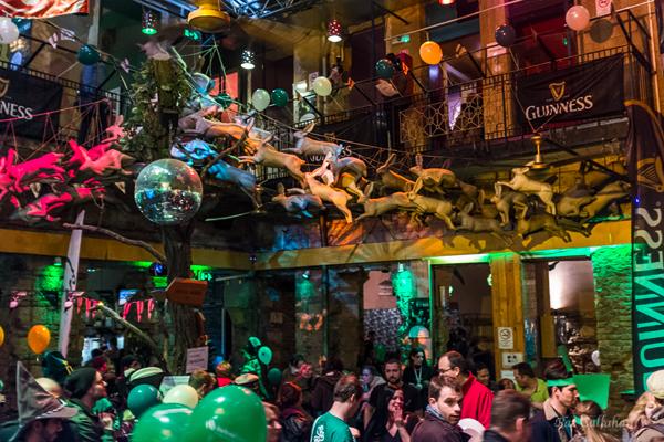 Inside Instant Ruin Pub Budapest Hungary
