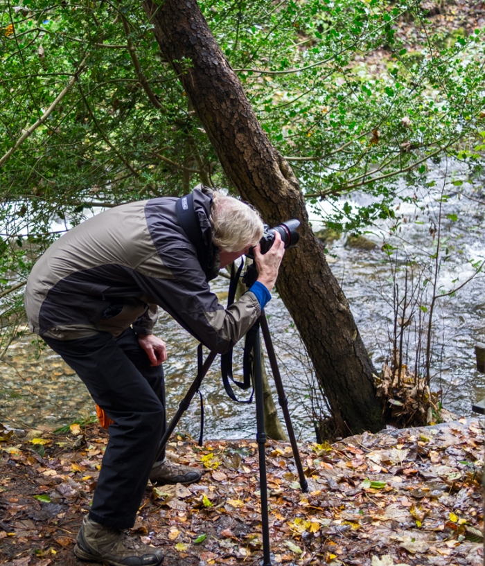 Pat Callahan taking a photo workshop in North Wales