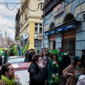 St. Patrick's day in Budapest Hungary