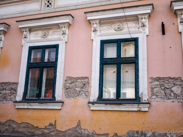 Classic Central European Plaster House in Szentendre Hungary