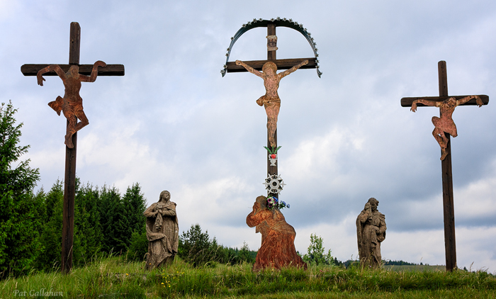 rural slovakia stations of the cross Banska Stiavnica