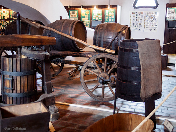 Wine Conveyences from the Tokaj Museum in Hungary