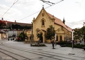 The Capuchine Church Old Town Bratislava Slovakiah