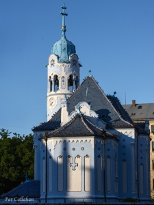 Blue Church of Saint Elizabeth's Bratislava Slovakia