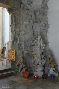 Inside the ancient Stain John the Evangelist Bratislava Slovakia