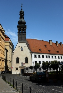 Saint Ursula Church Old Town Bratislavad