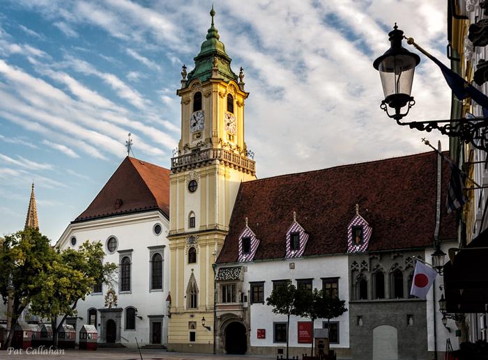 Old Town Square Bratislava Jesuit Church