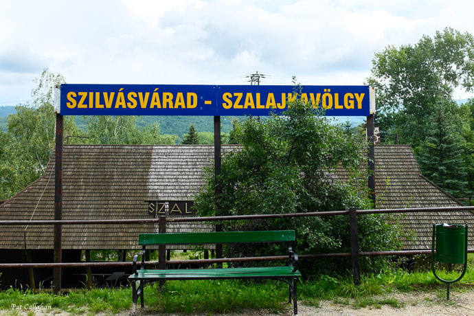 Train Sign near Eger
