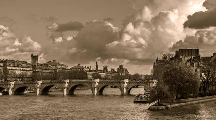 Paris Pont Neuf Photograph