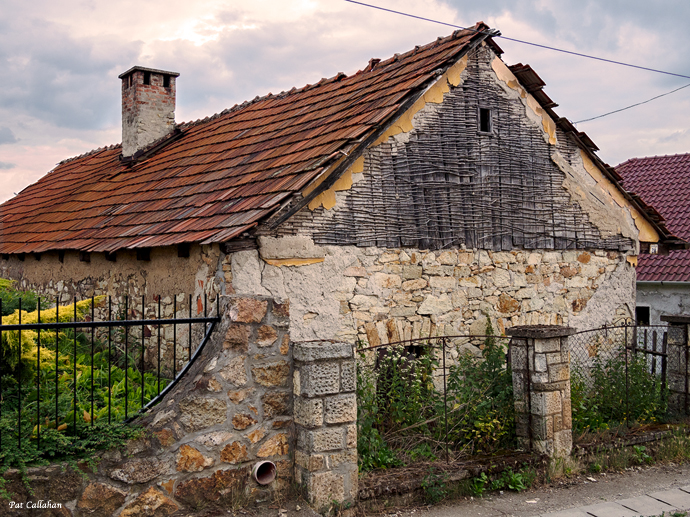 typical house in rural hungary