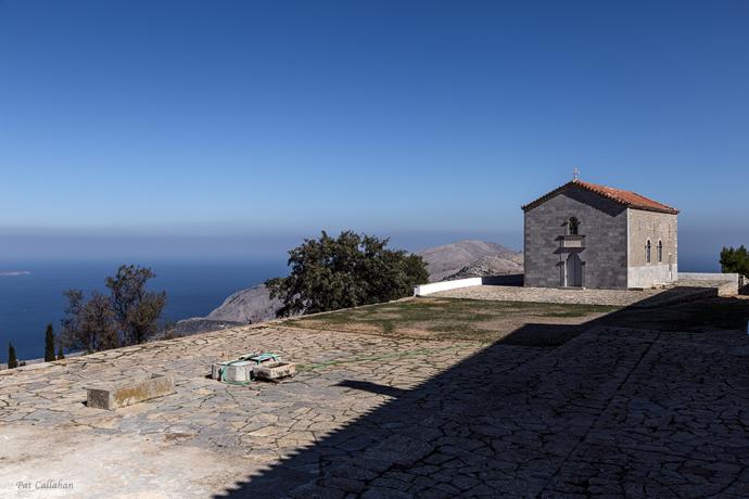 Elias Monastery on Hydra Islandt