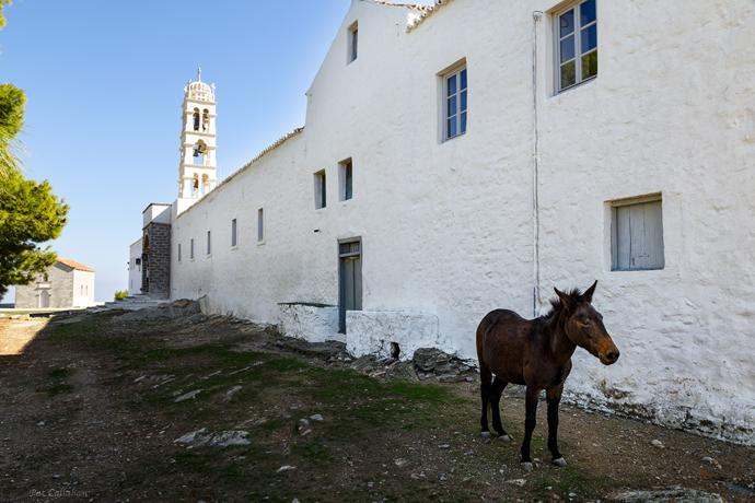 Elias Monastery Hydra Island Greece