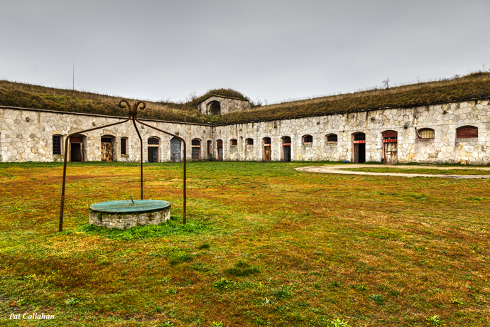 the barracks at fort monostor Hungaryat
