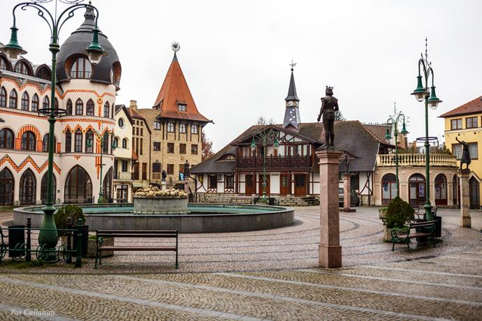 European Square Kolmarno Slovakia