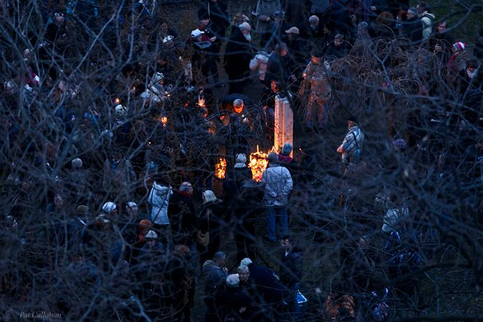 Ivan Andrassew ceremony Szent Istvan Park