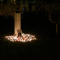 Memorial to Ivan Andrawes Szent Istvan Park Budapest