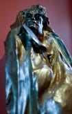Balzac statue in the Rodin Museum in Paris