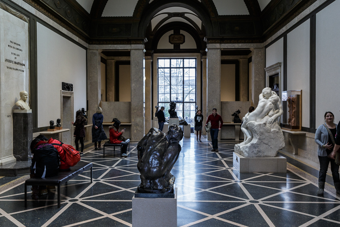 Rodin Museum Philly Main Interior Gallery