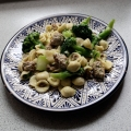 Orecchiette with homemade sausage