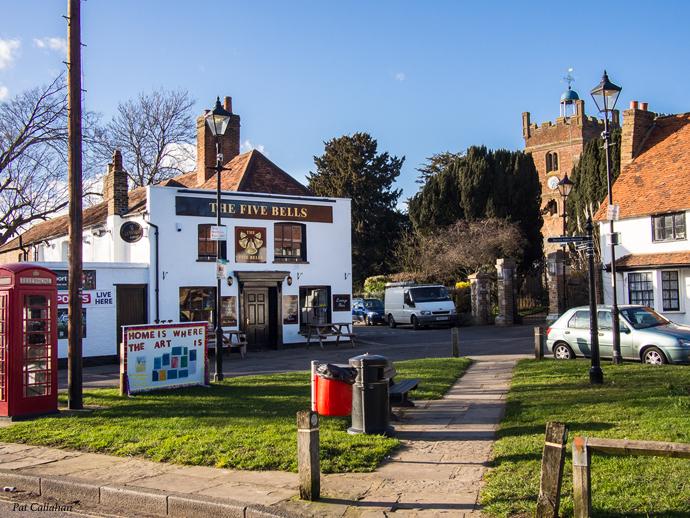 I love a small town English pub