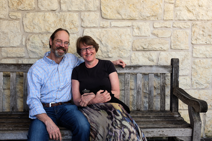 Fun times in Austin: Catching up with one of my work colleagues after 25 years