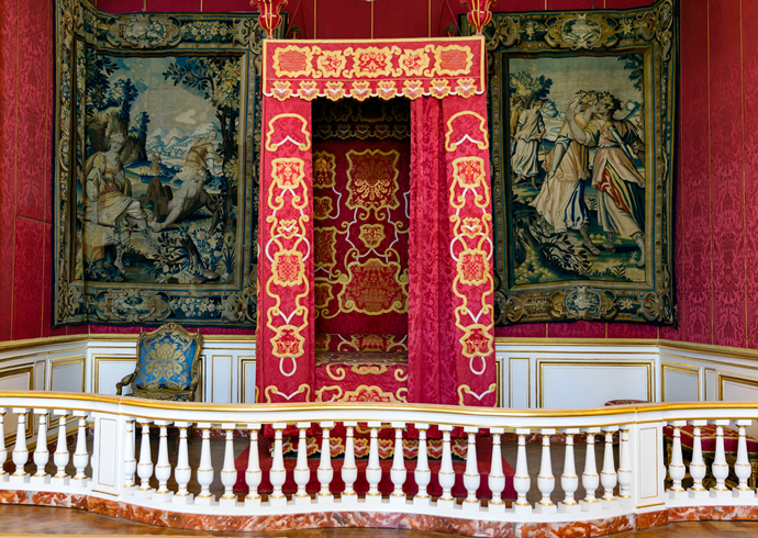 King's Bedroom at Chateau Chambered