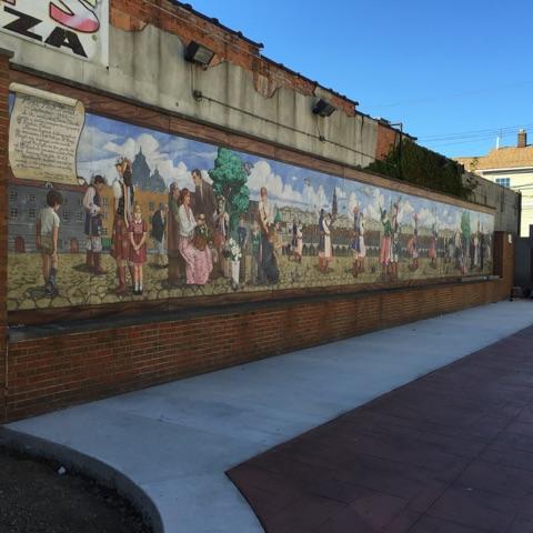 A Mural of Polish History
