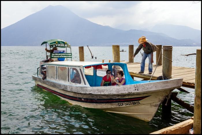 San Marcos La Laguna Dock