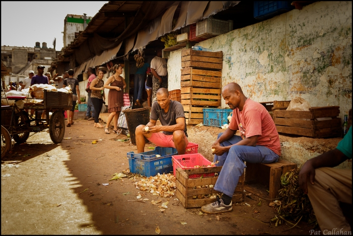 Workin' at the Market in Havana