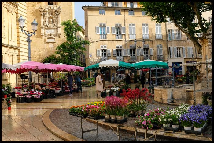 Aix-en-Provence Flower Market