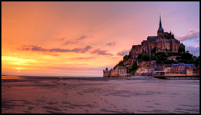 Mont-Saint-Michel Sunset